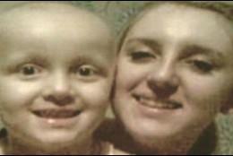 Kerry Capper y su hija