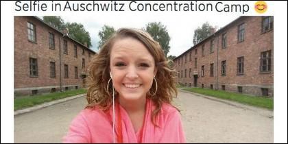 No todo vale: sonriendo en Auschwitz.