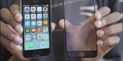 La pantalla de zafiro indestructible del iPhone6.