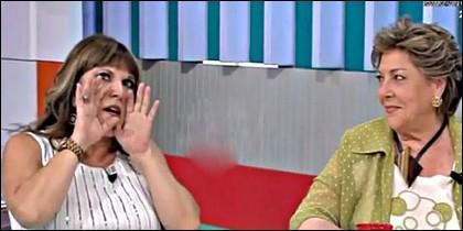 Loles León y Paloma Gómez Borrero.