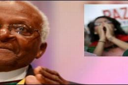 El Arzobispo y Premio Nobel de la Paz Desmond Tutu