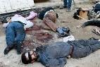 Victimas de las ejecuciones sumarias del Estado Islámico.