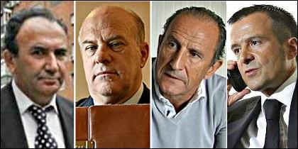 García Quilón, Ginés Carvajal, Petón y Jorge Mendes.
