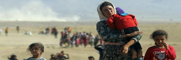 Refugiados en Irak