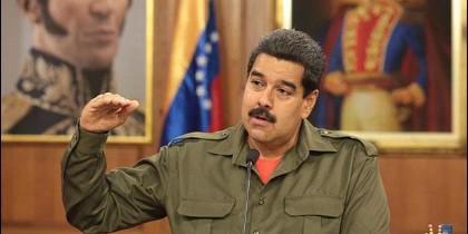 Maduro en una de sus peroratas.