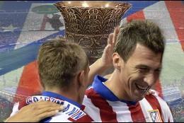 Atlético, campeón de la Supercopa.