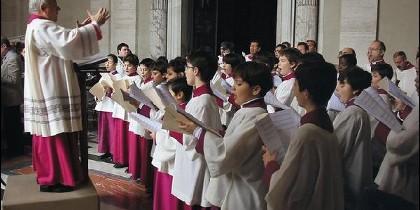 El coro de la Capilla Sixtina