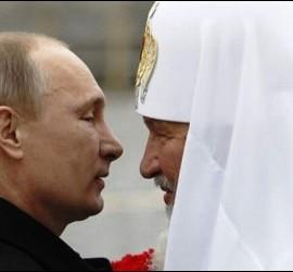 Putin y el patriarca Kiril