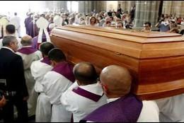 Funeral de monseñor Echarren