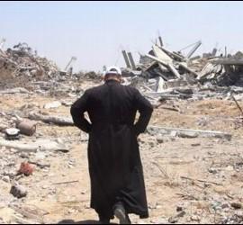 Hernández, en Gaza