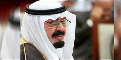 El rey de Arabia Saudí