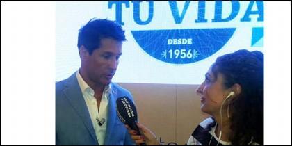 Jaime Cantizano, entrevistado PD