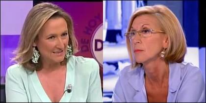 Isabel Durán y Rosa Díez.