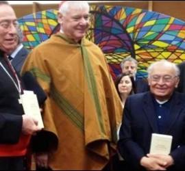 Gustavo Gutiérrez, en el Vaticano