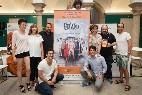 Pepón Nieto, Anabel Alonso y Alejo Sauras Teatro Romano de Mérida con El Eunuco