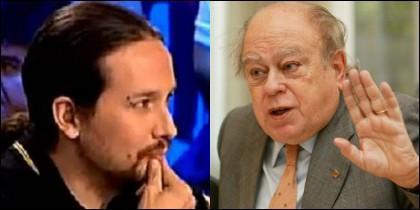 Iglesias y Jordi Pujol