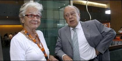 Marta Ferrusola y Jordi Pujol.
