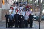 Osoro, con los seminaristas valencianos