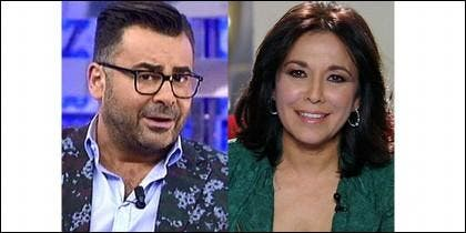 Jorge Javier Vázquez e Isabel Gemio.