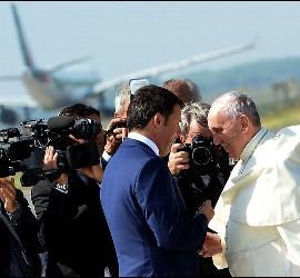 Renzi y el Papa Francisco