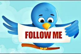 Los seguidores en Twitter.