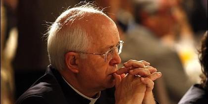 El arzobispo de Santiago, Julián Barrio