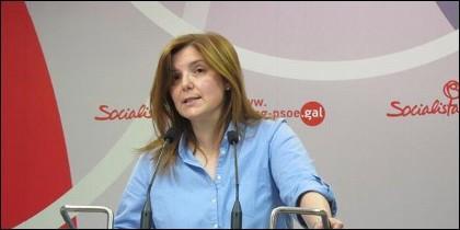 Pilar Cancela, secretaria del PSOE gallego