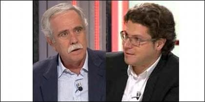 Pérez Henares y Fernando Berlín.