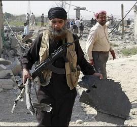Milicianos del Ejército Islámico.
