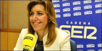 Susana Díaz en la cadena SER.