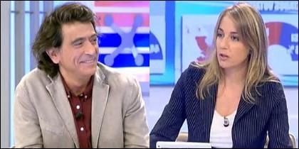 Arcadi Espada y Tania Sánchez.
