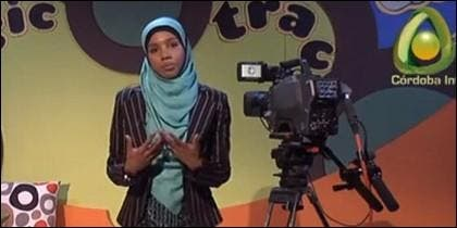 Presentadora de Córdoba TV.