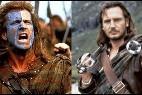 Mel Gibson y Liam Neeson.