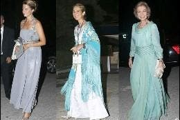 Victoria de Borbón dos Sicilias, Infanta Elena Reina Sofia Grecia 50 aniversario
