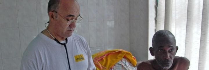 Manuel García, el religioso de San Juan de Dios infectado por el ébola