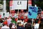 Marcha pro vida en Madrid