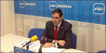 Benjamín Prieto, presidente del PP de Cuenca.