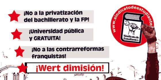 Cartel próxima huelga en octubre