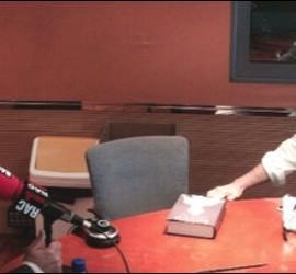 Vidal, entrevistado en RAC1