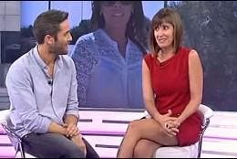 Roberto Leal con Sandra Daviú.