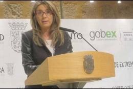Cristina Teniente, vicepresidenta de Gobierno de Extremadura.