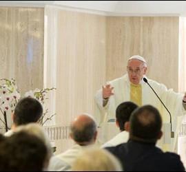 El Papa en Santa Marta