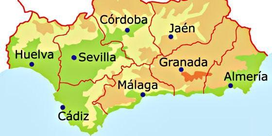 huelva mapa El PP entrega en Canal Sur un mapa de Huelva para evitar más  huelva mapa
