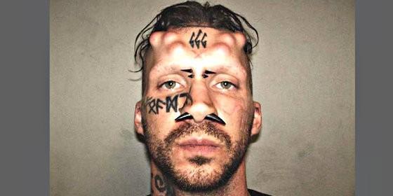 Condenado a cadena perpetua 'Satanás', el asesino con cuernos y un 666 tatuado en la frente Caius-veiovis_560x280