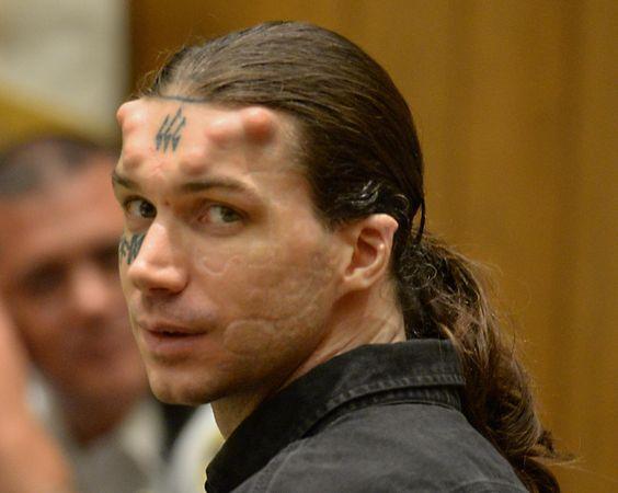Condenado a cadena perpetua 'Satanás', el asesino con cuernos y un 666 tatuado en la frente El-asesino-caius-veiovis