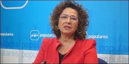 Carmen Riolobos, portavoz del PP en Castilla-La Mancha.