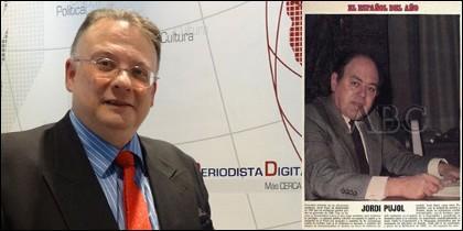 César Vidal y la página de elogio en ABC a Pujol.