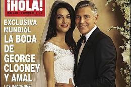 George Clooney y Amal Alamuddin, las primeras imágenes de su boda