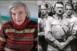 Margo Wölk y Hitler