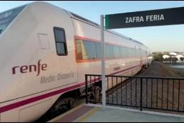 Estación ferroviaria de Zafra.